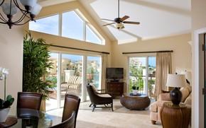 Picture Villa, balcony, living room, Reunion, Villa del Mar