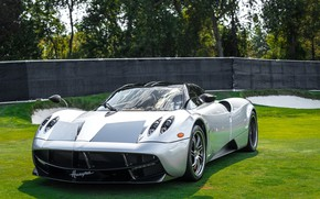 Picture green, Pagani, To huayr, lawn