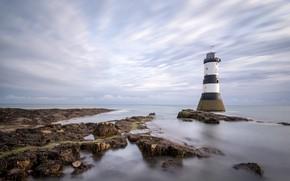 Picture coast, lighthouse, USLS