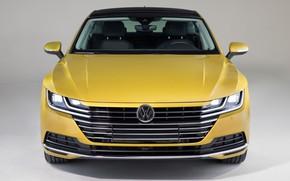 Picture Volkswagen, sedan, front view, Arteon, 2019, 4MOTION