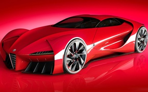 Picture Concept, Alfa Romeo, Supercar, Supercar, Sports car, Project, Alfa 6C
