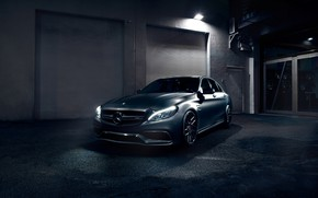 Picture Light, Mercedes, AMG, Evening, C63, W205