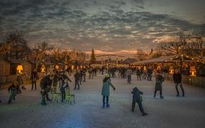 Picture winter, rink, Amsterdam, Wonder Land