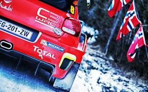 Picture Winter, Auto, Snow, Sport, Machine, Race, Norway, Citroen, Citroen, Car, WRC, Rally, Rally, Stephane Lefebvre, …