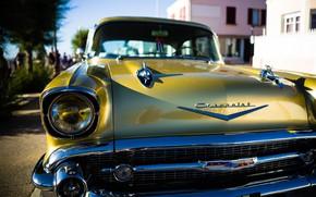 Wallpaper retro, Chevrolet, Bel Air, Cuba, Chevrolet Bel Air