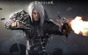 Picture weapons, fire, the game, sleeve, Lost Ark
