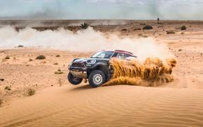Picture Sand, Mini, Dust, Sport, Desert, Speed, Race, Rally, Rally, Dune, X-Raid Team, MINI Cooper, X-Raid, ...