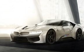 Picture Auto, Figure, White, concept, BMW, Machine, Art, Cars, Rendering, Yasid Oozeear, ArtStation, BMW Zi8, BMW …