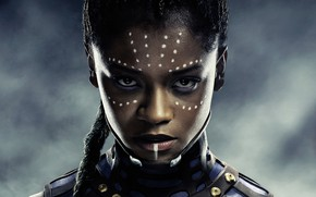 Picture girl, fiction, poster, comic, Shuri, Black Panther, Black Panther, Letitia Wright, Leticia Wright