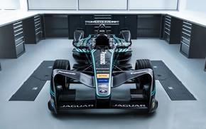 Picture Jaguar, the car, front, 2016, Formula E, I-Type 1