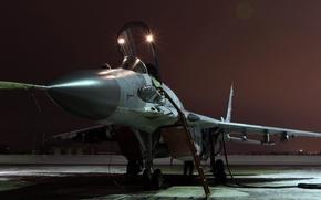 Picture Fulcrum, OKB MiG, The MiG-29SMT, Soviet multipurpose fighter, a modernized version of the MiG-29SM