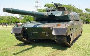 Picture Japan, weapon, asian, tank, oriental, asiatic, Japanese, machine gun, Type 10, Mitsubishi Heavy Industries, Nippon, …