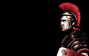 Picture warrior, Rome, helmet, Son of Rome, Ryse