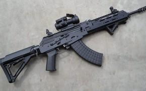 Picture weapons, tuning, machine, weapon, custom, Kalashnikov, Custom, AKM, Kalash, AKM, assault rifle, assault Rifle, 7.62