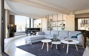 Picture room, Villa, interior, living room, Suite