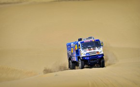 Picture Sand, Truck, Master, Russia, Kamaz, Rally, Dakar, KAMAZ-master, Dakar, Rally, KAMAZ, 507, The roads, RedBull, …