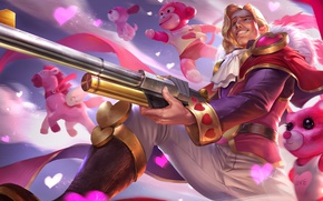 Picture male, Prince, the gun, hon, Heroes of Newerth, Prince Charming, Klanx