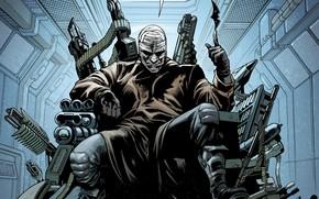 Picture Weapons, Mask, Comic, Guns, Villain, Gun, Weapon, DC Comics, Mask, The batarang, Comics, Bandages, Hash, …