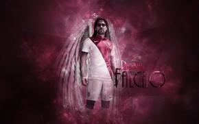 Picture wallpaper, sport, football, player, Radamel Falcao, AS Monaco FC