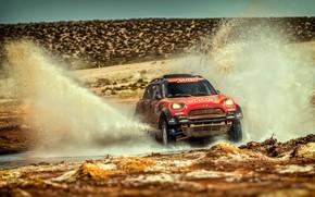 Picture Auto, Mini, Sport, Speed, Race, Squirt, Rally, Dakar, Dakar, SUV, Rally, 312, X-Raid Team, MINI …