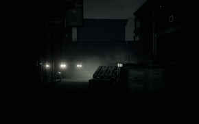 Picture night, the city, survival horror, Husk, Rivercliff