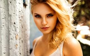 Picture girl, look, blonde, Miro Hofmann, Carla Sonre
