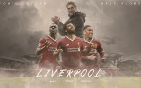 Picture mane, liverpool fc, Firmino, Mohamed salah, Premier league, Anfield road, Lfc