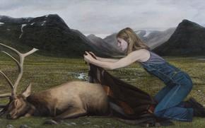 Picture picture, Highlands, Norwegian artist, Christer Karlstad