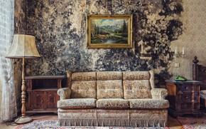 Picture sofa, picture, Hotel