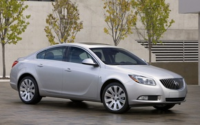 Picture sedan, Buick, Regal