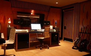 Picture Guitars, Studio, Instruments