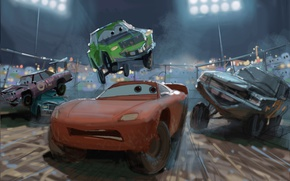 Picture car, Cars, film, artwork, animated, animated movie, Cars 3