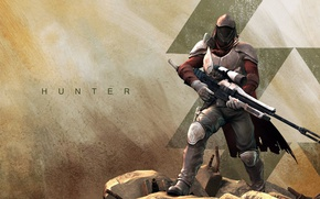 Picture gun, game, Hunter, weapon, sniper, Destiny, Guardian