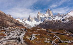Picture mountains, Argentina, Argentina, Patagonia, Mount Fitzroy