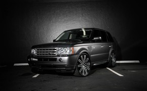 Wallpaper matched, Range Rover, Sport, wheels, Ruff Racing, body, lowered, trim