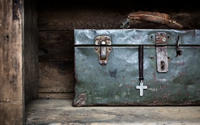 Picture macro, background, suitcase