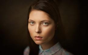 Picture portrait, sponge, the beauty, Ira, Lashon Rise