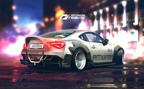 Picture Auto, Figure, Machine, White, Toyota, Car, Car, Art, Art, Rendering, Toyota GT 86, GT86, GT …