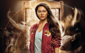 Picture the series, poster, Jessica Henwick, jacket, Colleen Wing, Jessica Henwick, red, brown hair, Iron fist, ...