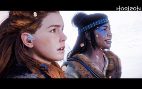Picture Girls, Snow, PlayStation, PS4 Pro, Horizon Zero Dawn, Eloy