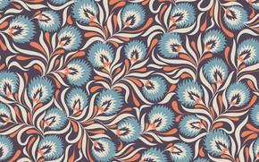 Picture blue, pattern, texture
