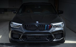 Wallpaper BMW, Black, F90