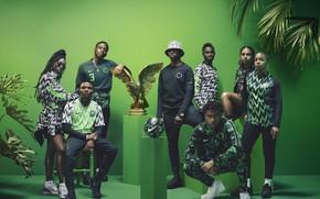 Picture Palma, eagle, football, the ball, form, Nike, football, presentation, Nigeria, Nigeria, Julie Adenuga, Yagazie Emezi, …