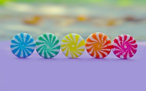 Picture background, colored, candy, sweets