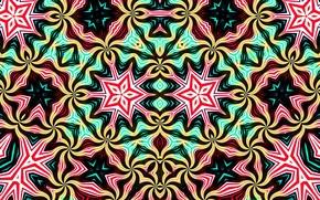 Picture line, pattern, paint, symmetry, kaleidoscope
