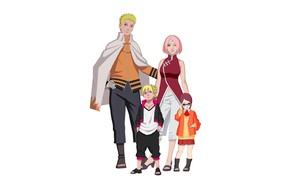 Picture Naruto, Sakura, anime, ninja, asian, manga, shinobi, japanese, oriental, asiatic, Sarada, Boruto, Boruto: Naruto the …