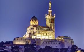 Picture France, Basilica, Marseille, Notre-Dame-de-La-garde