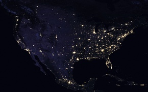 Picture space, United States, Night