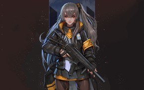 Wallpaper weapons, Girls Frontline, girl, anime