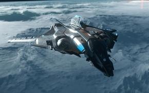 Wallpaper starship, Sabre, Star Citizen
